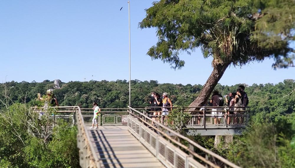 Iguazú cataratas salto san martin