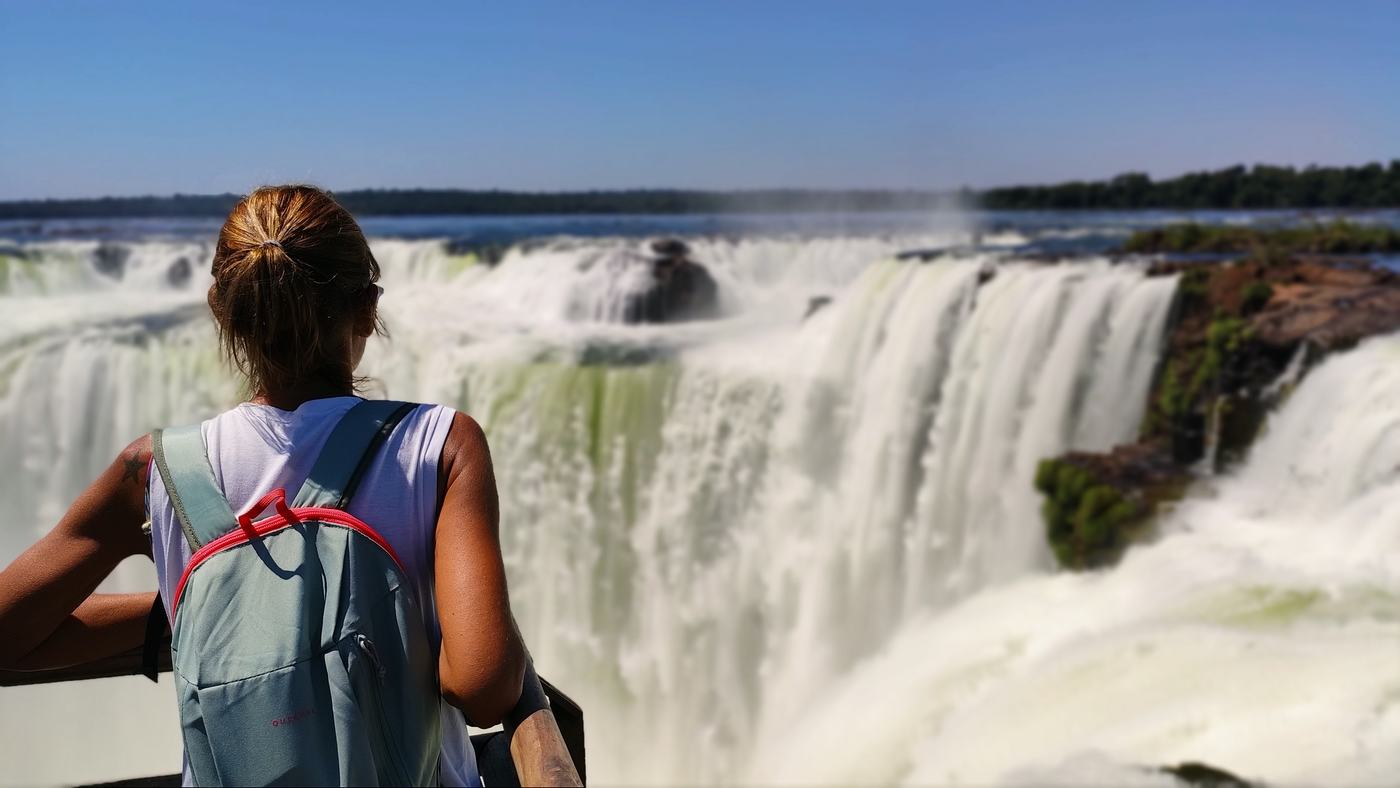 Parque nacional Iguazú, cataratas del Iguazu