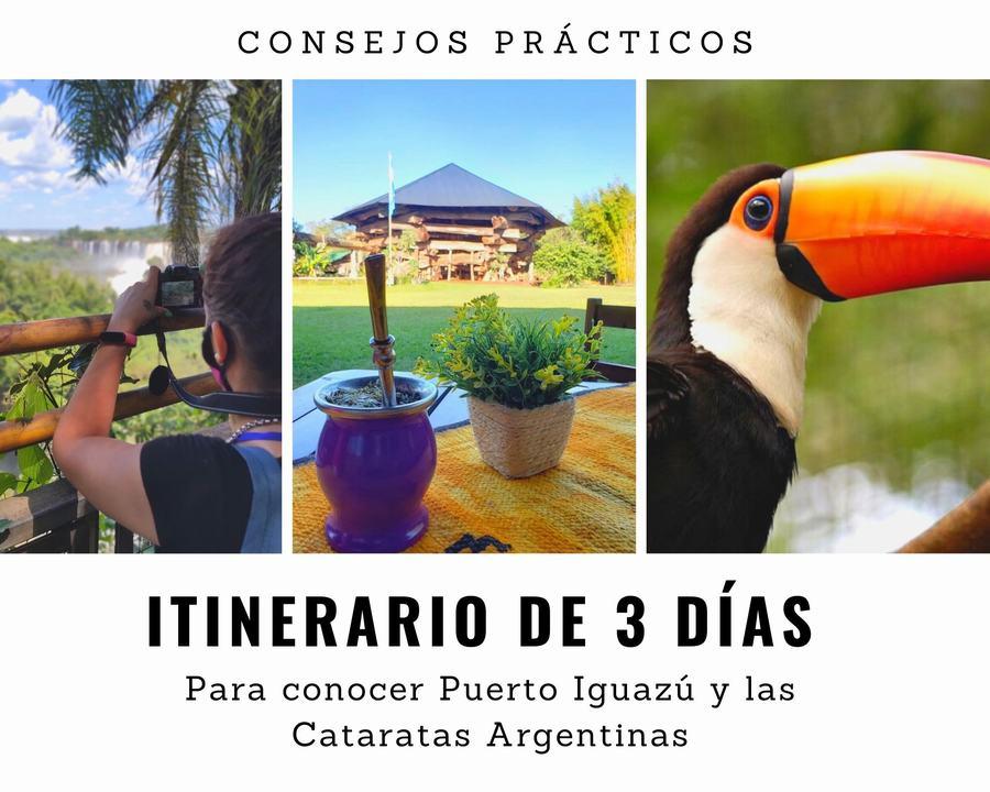 itinerario de 3 días en Puerto Iguazú