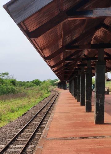 Primer estación del tren ecológico